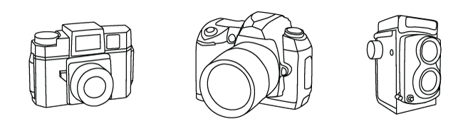 Camera Vector Preview of Camera Illustrations